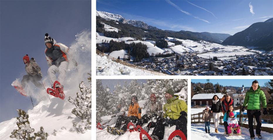 Renon, Val Sarentino, Passo Oclini: qui l'inverno è family-friendly