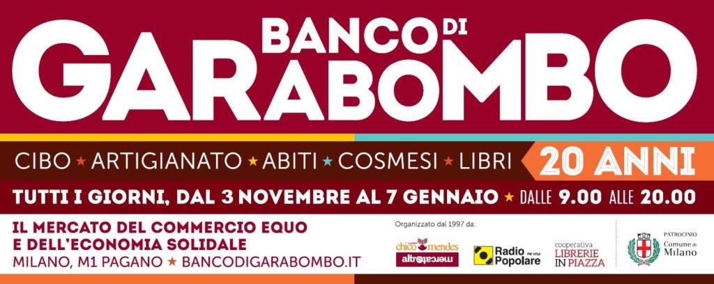 Banco di Garabombo: 1° dicembre apertura fino alle 22 con DEGUSTAZIONE OLIO ANTICO FRANTOIO DEL PARCO